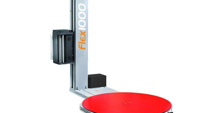 Flex 1000 Semiautomatisk strækfoliemaskine