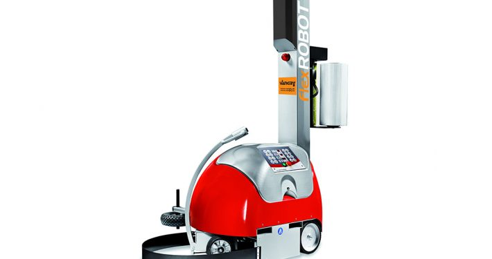 Flex Robot Semiautomatisk strækfoliemaskine